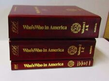 Who's Who in America 1996 50th Edition (3 volume set) by Marquis