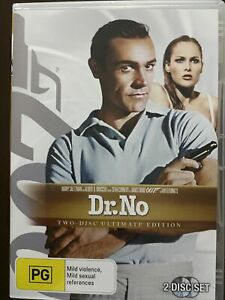 James Bond 007 In Dr.No. 2 Disc Ultimate Edition DVD Movie. Free Postage.