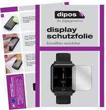 6x CanMixs CM07 Smartwatch Schutzfolie klar Displayschutzfolie Folie Display