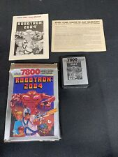 Atari 7800 Robotron 2084 Complete