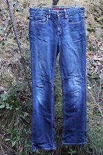 LEVI STRAUSS & CO~ BOOT CUT 875  Blue Stretch Denim Jeans Size 10