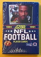1991 SCORE NFL FOOTBALL SERIES 2 SEALED BOX RICE, YOUNG, FAVRE RC! BGS10? PSA10?