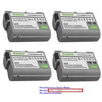 Kastar Replacement battery for Nikon Original EN-EL15a Nikon Genuine MH-25a