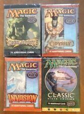 4 Magic the Gathering Tournament Pack Sealed MTG Onslaught Invasion Odyssey 6th