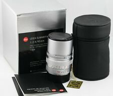 *MINT-* Leica Elmarit-M 90mm f2.8 1:2.8/90 E46 Silver Chrome M6 M7 M9 M9P MP M10