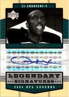 2004 Upper Deck Legends Legendary Signatures #LSVG Vencie Glenn Auto - NM-MT