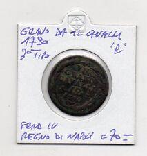 """Regno di Napoli - 1790 -Grano da 12 Cavalli - Ferd. IV° -""""R""""- 3° Tipo - (MW316)"""