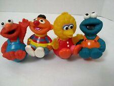 Sesame Street Muppets WEEBLE WOBBLE Big Bird ERNIE ELMO COOKIE MONSTER  Henson