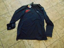 US ARMY MILITARY UNDER ARMOR LONG SLEEVE SHIRT JROTC MENS LARGE