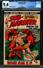SUB-MARINER #50 CGC 9.4 NM 1972 Marvel Comics, The First Appearance of Namorita!