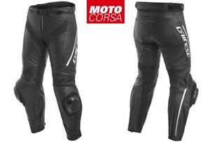 Dainese Delta 3 Perforated Leather Pants sz 48, 50, 52, 54, and 56