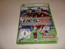 XBox 360   PES 2010 - Pro Evolution Soccer