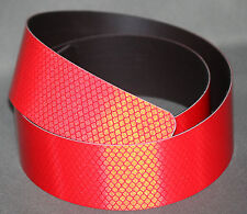3M Red (4092) Diamond Grade Class 1 MagneticReflective 50mmx1.2m