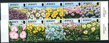 Jersey 1995 SG#707-716 flores silvestres, conservación de la naturaleza estampillada sin montar o nunca montada Set #E6850