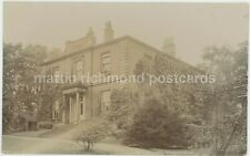 Sheffield, Birley House, W.R. Moore Real Photo Postcard, C029