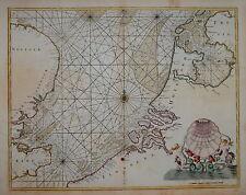 THE NORTH SEA BY CAPTAIN GREENVILLE COLLINS, CIRCA 1750.