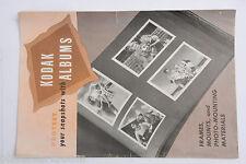 Kodak 1948 Albums Mounting - Julian Camera - Ad Rack Card - English - USED B81