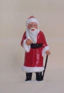 Santa Claus, Father Christmas, train or village layout, Reproduction Johillco