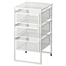 IKEA LENNART Drawer Unit in White with Wheels