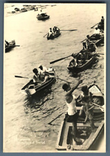 Portugal, Madeira, Diving Boys at Funchal  Vintage silver print. Tirage argent