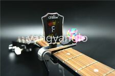 Alice Multifunctional Guitar Capo With Digital Tuner And Guitar Picks Holder
