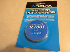 "Delta/Biesemeyer 79-062 12' Lh tape 1/2"" English markings"