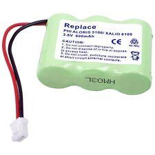 Akku für Alcatel 2070 2570 Philips TD 5100 Xalio 6400
