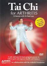 Tai Chi for Arthritis DVD New by Paul Lam (DVD, 1997)
