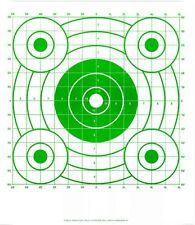 Green Pistol & Rifle Sighting-In Bullseye Shooting Targets - 14x16 - 68 Qty.