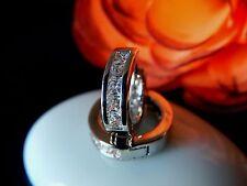 Ohrringe Creolen 925 Sterling Silber Durchm.13mm Klappcreolen Schmuck Damen