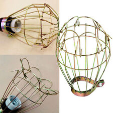 Home Ba Metal Bulb cage Guard Lamp Light Cage Hanging Industrial Vintage Pendant