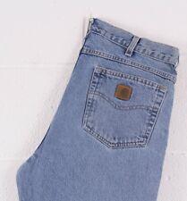 Vintage Carhartt Blue Men's Jeans W33 L35