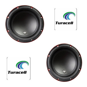 """2 Audiopipe TS-CAR10 10"""" Edge Woofer, 600 Watts Max, 300 W Rms/Single Voice Coil"""