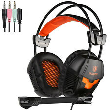 Sades SA921 Multifunction Universal Gaming Headset w/Mic forPS4 New Xbox One PC