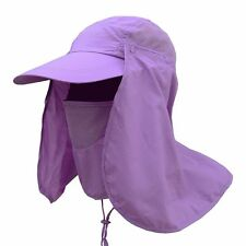 Women Men Hiking Fishing Hat Outdoor Sport Sun UV Protection Neck Face Flap Cap