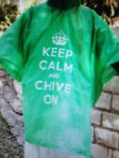 the Chive *Authentic* Keep Calm and Chive On Rain Poncho KCCO