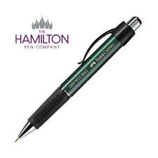 Faber-Castell Grip Plus 07 Ball Pen - Metallic Green