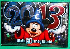 DISNEY PARKS 2013 PHOTO ALBUM NEW WALT DISNEY WORLD FAB 5 PHOTO ALBUM HOLDS 100