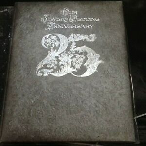 Hallmark Keepsake Albums Our Silver Wedding Anniversary 25 Years