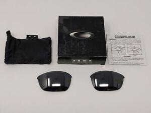 Oakley Half Jacket 2.0 43-500 Black Polarized Authentic Replacement Lenses A&S