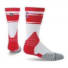 Stance Houston Rockets Fusion Core Crew NBA Socks Red/White/Gray Size 2X(17-20)
