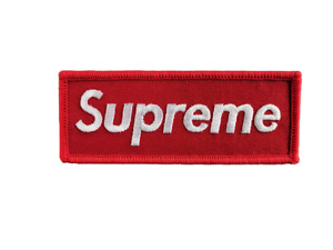 Supreme Patch - Ships from Canada (Premium Quality)