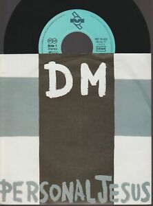 """Depeche Mode Personal Jesus 45T 7"""" Inch 45 Tours SP Germany"""