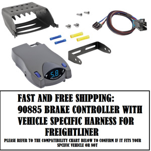 90885 Tekonsha Brake control with Wiring Harness 3027 FOR 2004-2016 Freightliner