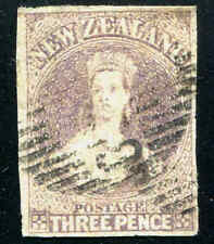 New Zealand  #13 3p Brown Imperf Victoria     (02)