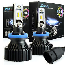 JDM ASTAR 2X H11 LED Headlight Kit Conversion Light Bulbs 30W 8000LM 6500K White