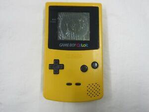 D225 Nintendo Gameboy Color console Yellow Japan GBC x