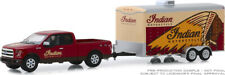 PREORDER Greenlight Hitch & Tow '17 Ford F-150 W/ Enclosed Indian Motors Trailer