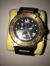 """Invicta Men's 6763 """"Reserve Collection"""" 18k Rose Gold Ion-Plated Stainless Steel"""