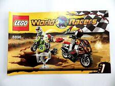 Notice LEGO world RACERS  Manuels d'instructions montage réf 8896